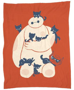 Kittens Fleece Blanket