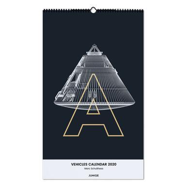 Vehicles Calendar 2020 - Marc Schulthess Wall Calendar