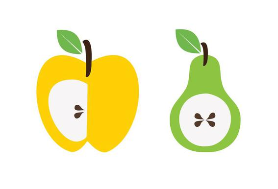 The Apple And Pear Poster