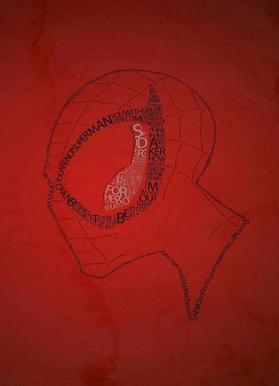 Spider Quotes Canvas Print