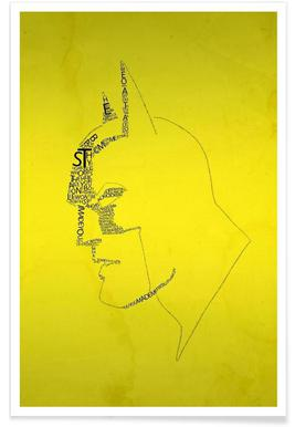 Bat Quotes Poster
