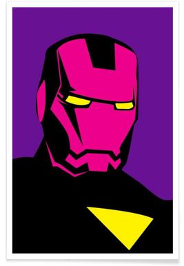 Pop The Iron Poster