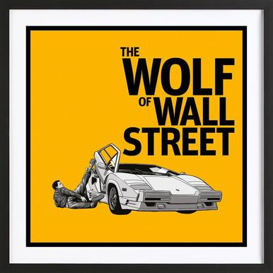 The Wolf of Wall Street Framed Print
