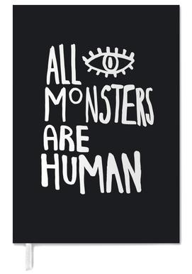 All Monsters Are Human Personal Planner