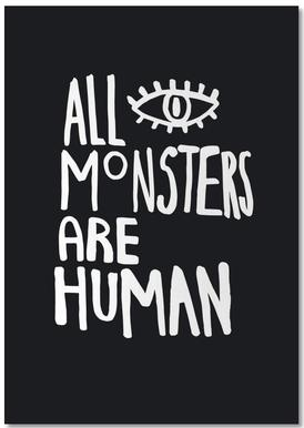 All Monsters Are Human bloc-notes