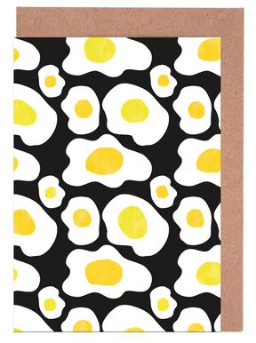 Fried Eggs Greeting Card Set