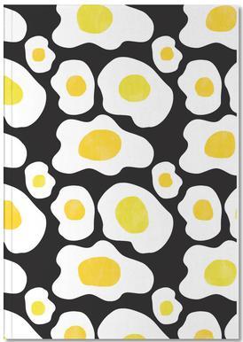 Fried Eggs Notebook