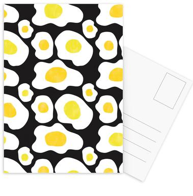 Fried Eggs Postcard Set