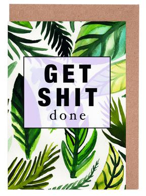 Get Shit Done Greeting Card Set