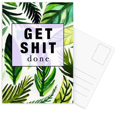 Get Shit Done Postcard Set