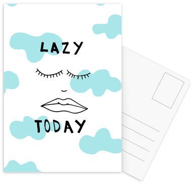 Lazy Today Clouds Postcard Set