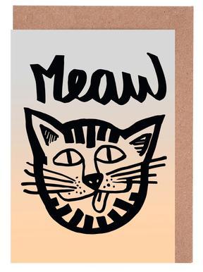 Meaw Greeting Card Set
