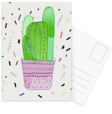 Cactus Postcard Set