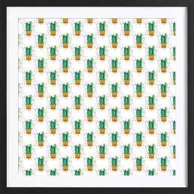 Cacti Cactus Framed Print