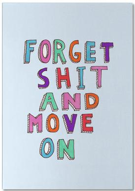 Forget and Move On Notepad