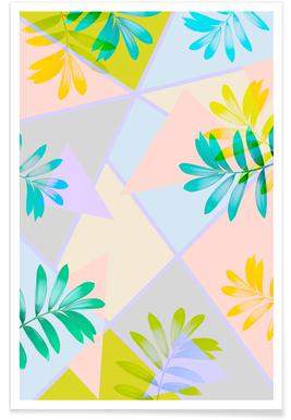 Tropical Palm -Poster