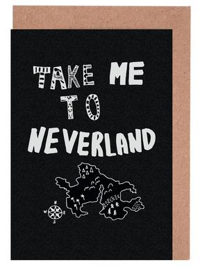 Take Me To Neverland 2 Greeting Card Set