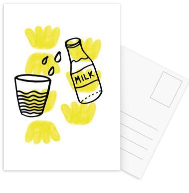 Milk Postcard Set