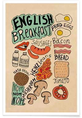 English Breakfast -Poster