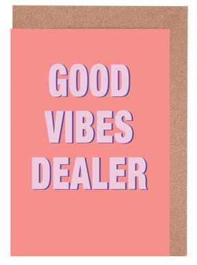 Good Vibes Dealer -Grußkarten-Set