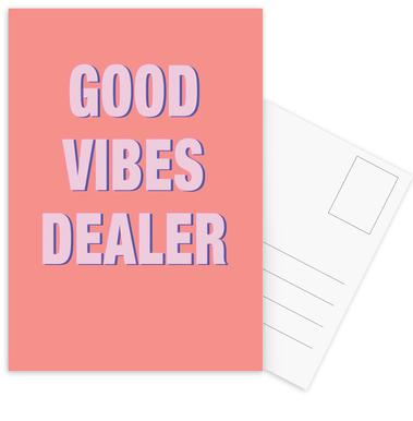 Good Vibes Dealer Postcard Set