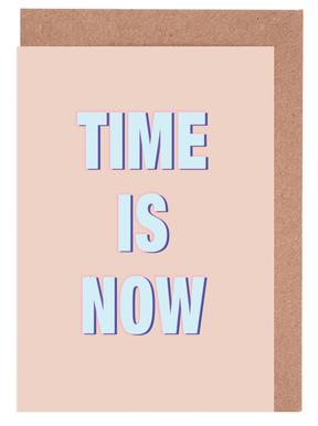 Time Is Now Greeting Card Set