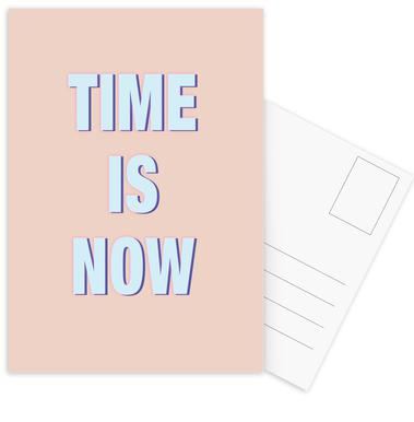 Time Is Now Postcard Set