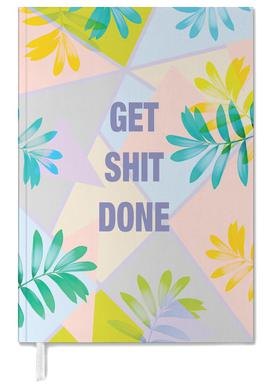 Get Shit Done Tropical Personal Planner