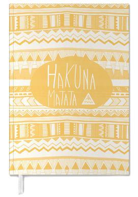 Hakuna Matata Yellow Personal Planner