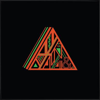 Triangle Framed Poster