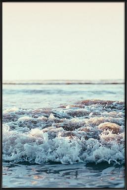 Pacific Ocean - Poster in kunststof lijst