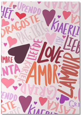 Love Languages Notepad