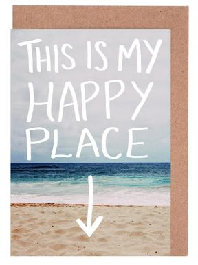 Happy Place Greeting Card Set