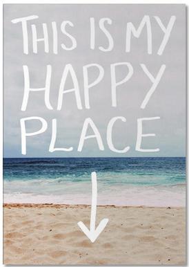 Happy Place -Notizblock