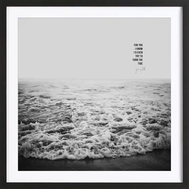 Tide x Johnny Cash Framed Print