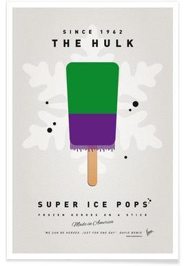 My Superhero Ice Pop - The Hulk -Poster