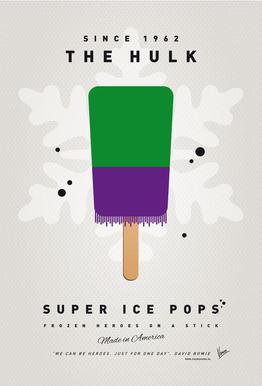 My Superhero Ice Pop - The Hulk -Alubild