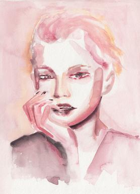 Through Rosey Lenses Canvas Print