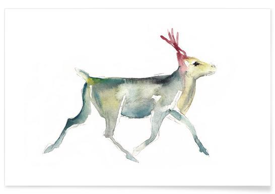 Reindeer 4 affiche