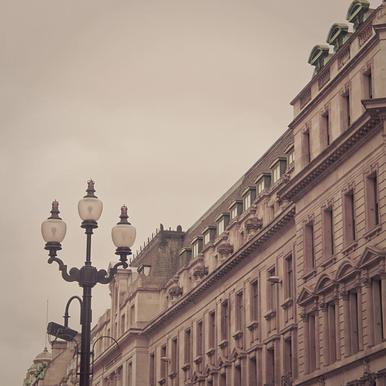 Regent St Square -Acrylglasbild