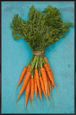 Carrots ingelijste poster