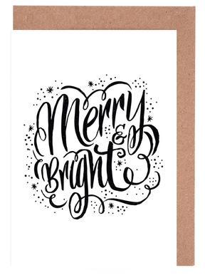 Merry Bright Greeting Card Set