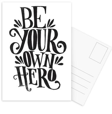 Be Your Own Hero cartes postales