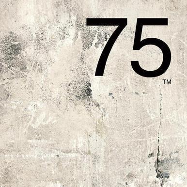 75. Helvetica canvas doek