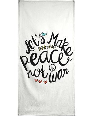 Peace Not War Bath Towel