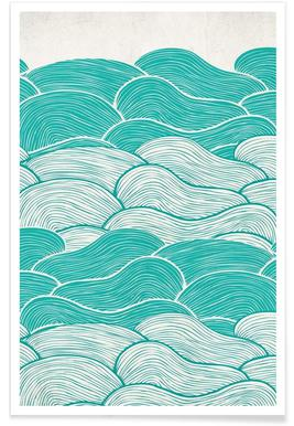 The Calm And Stormy Seas affiche