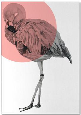 Flamingo carnet de notes