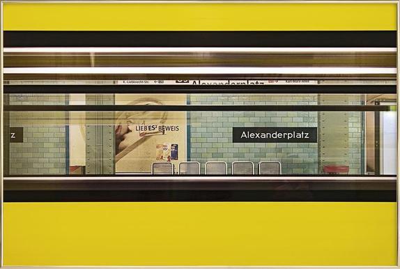 Liebesbeweis poster in aluminium lijst