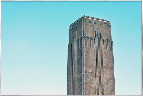 Tate Modern 03 -Poster im Alurahmen