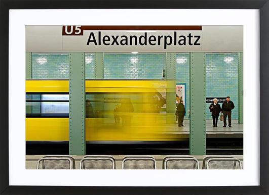 Leaving Alex Framed Print